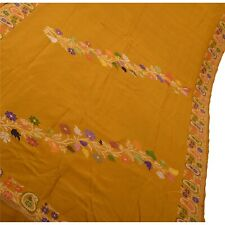 Tcw Sanskriiti Vintage  Sarees Pure Silk Green Woven Craft Fabric Premium Sari
