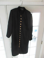 LADIES SIZE 14W  BLACK DRESS CYNTHIA HOWIE FOR MAGGY BOUTIQUE CALF LENGTH DRESS