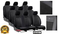 Tailored Eco-Leather +Alicante Seat Covers MERCEDES VITO W639 9 SEATER 2003-2014