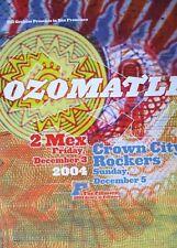 Ozomatli Fillmore Poster Crown City Rockers Original Bill Graham F674