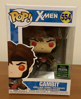 Gambit X-Men Marvel Funko Pop #554 2020 Spring Convention Limited Edition