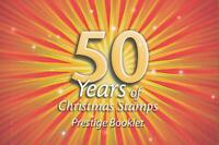 50 YEARS of CHRISTMAS STAMPS PRESTIGE BOOKLET AUSTRALIA 2007 MINT PERFECT