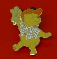 Small Used Disney Enamel Pin Badge Winnie The Pooh Bear Character Baseball DLP