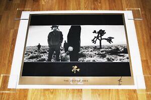 Sold Out U2 JOSHUA TREE Ltd Edn Litho Print -Signed Autographed by ANTON CORBIJN
