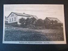AK Gasthaus zum Jägerheim Höllenhäuser Okres Trutnov Trautenau Böhmen Tschechien