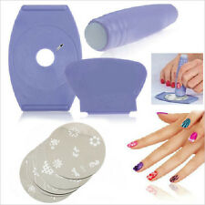 Nail Art tools Kit Set Printer Print Printing Pattern Stamp Manicure Machine FE