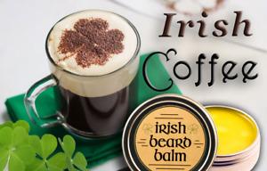 Irish beard balm Irish Cofee 100% all natural leave in beard conditioner.