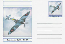 CINDERELLA - 3960 - AIRCRAFT SPITFIRE on Fantasy Postal Stationery card