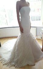 Ladies Ronald Joyce Designer Wedding Dress Ivory Style size 12