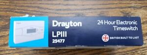Drayton LP111 24 Hour Electronic TimeSwitch