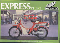 Honda-UK NC50 Express Deluxe (1980 >>) Genuine Factory Sales Brochure NC 50 CA98