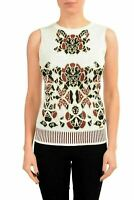 Just Cavalli Multi-Color Sleeveless Women's Knitted Blouse Tank Top US S IT 40
