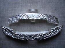 German WWII WW2 dagger crossguards - set - oak leaves - silver