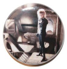 "1"" (25mm) David Bowie 1986 'Labyrinth' Jareth Button Badge Pin - Retro 80's"