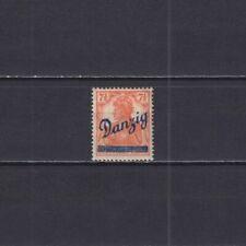 DANZIG 1920, Mi#35, CV €45, Overprint, MH