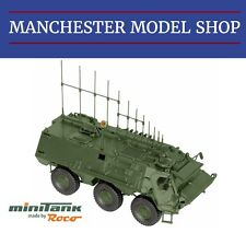Roco Minitanks 05059 HO 1:87 Fox Armoured Personnel Carrier guerre électronique