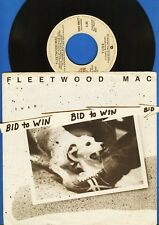 Fleetwood Mac Tusk & Never Make Me Cry 45 Rpm Record with Picture Sleeve 1979