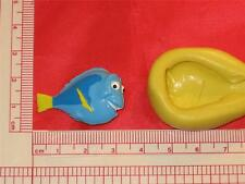 Finding Nemo Silicone 2D Dory Mold 887 Cake Chocolate Resin Candy Clay Fondant