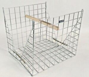 CLAM LARSEN MATE Magpie Trap cage zinc plated unused UK made by The TrapMan crow