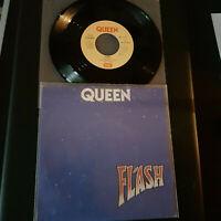 """Queen-Flash-Vinyl 7"""",45 RPM,Single D 1980-Sammlung Rock"""