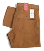 Levis Mens 502 Battalion Pant Regular Fit Straight Leg Pockets Beige 329420005