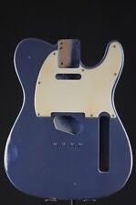 RGH | Tele S. Body Blue Ice MET. Alder/Alder, Nitro Aged/RELIC + pickg.