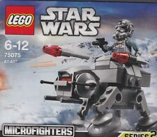 rare LEGO STAR WARS MICROFIGHTER SERIE 2 75075 AT - AT  1 minifig New Nib Sealed