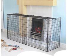 Extendable Fireguard Fireplace Protector Screen Freestanding Firescreen Child