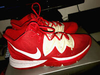 Nike Kyrie 5 University Red/White Mens Basketball Shoes - Mens Size 12