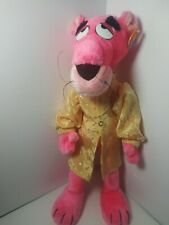 Vintage 1980 Pink Panther Plush by Mighty Star Stuffed Animal Toy Euc