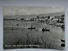 MESSINA Lago di Ganzirri vecchia cartolina pescatori