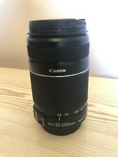 "Canon EF-S 55-250mm f/4-5.6 IS II Lens ""Excellent Condition"""