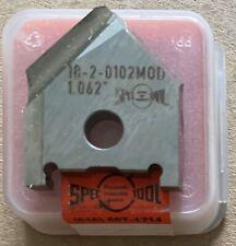 """Spec Tool 18-2-0102 Drill Insert 1.062"""" Item 105461 New!"""