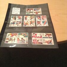 Brand New 24 Mint Stamps From The 1984 California USA Olympics Collection