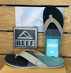 Reef - Mens - Tri Newport - Black Green - Flip Flops - Sandals
