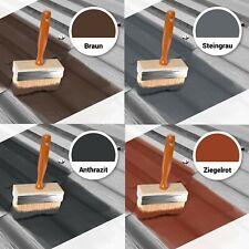 1,5kg-25kg Dachfarbe Sockelfarbe Anthrazit Braun Steingrau Ziegelrot RM46
