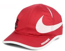 best website 792a3 f5447 New Arkansas Razorbacks Nike Big Swoosh Adjustable Hat Cap Red