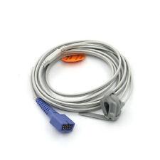 DB9 Neonatal Silicon Wrap Pulse Oximeter for Nellcor Oximax SpO2 Sensor Cable 3m