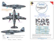 TopNotch Me 262 Early camouflage scheme vinyl mask set