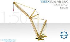 Conrad 2744-04 Terex Bracht 3800 Superlift Crawler Crane 1/50 scale Die-cast MIB