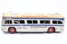 """Greyhound Bus Pennsylvania Lines C1452 Yonezawa Japan Tin Friction 18"""" Length"""