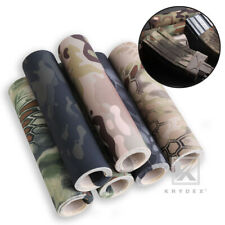 KRYDEX Camouflage Sticker Tactical Army Camo Elastic Cloth DIY Tape Wrap Decal