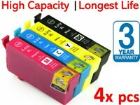 4x Generic Ink 212 212XL For Epson XP-2100 XP-3100 XP-3105 XP-4100 WF-2850 2830