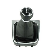 For VW Golf 5 6 Jetta 5 6 MK5 MK6 2004-2012 5 Speed Gear Shift Knob Gaiter Boot