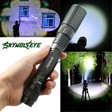 10000LM Focus Tactical Police XML T6 LED 5Modes Flashlight Torch Lamp Waterproof