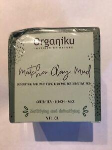 organiku matcha green clay mud mask New And Sealed