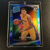KYLE KUZMA 2017 PANINI DONRUSS OPTIC #174 HOLO SILVER REFRACTOR RATED ROOKIE RC