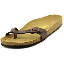 Birkenstock Slip On, Mules Synthetic Leather Shoes for Women