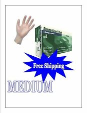 Vinyl Disposable Gloves Powder Free Medium 1000 (10 BOXES) FREE SHIPPING