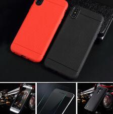 Para LG Nexus 5x funda móvil slim protección fiel a cover case TPU bolsa + cristal blindado
